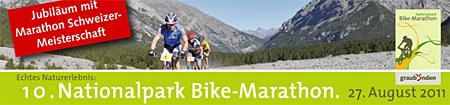 Banner Nationalpark Bike-Marathon 2011